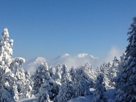 Raquettes Hors des Traces sur le plateau de Beille en Pyrénées Ariégeoises