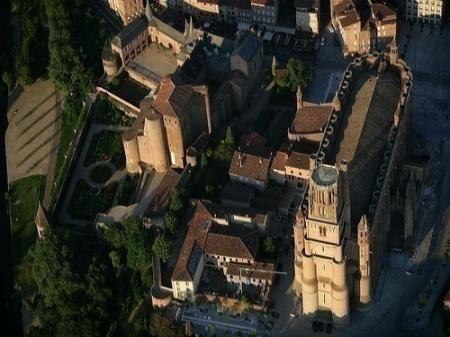 Albi cathédrale Ste Cécile musée Toulouse Lautrec Tarn