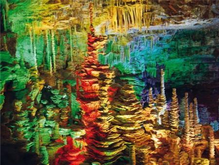 Visite de la grotte de l'Aven Armand