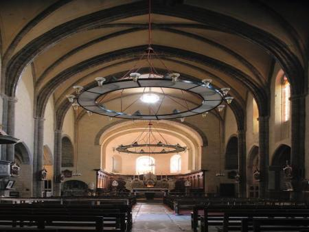 Visite de l'abbaye de Caunes Minervois