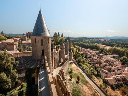 Le château Comtal et remparts de la cité de Carcassonne