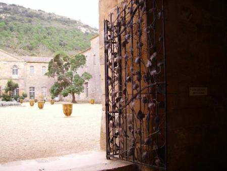 La visite de l'abbaye de Fontfroide
