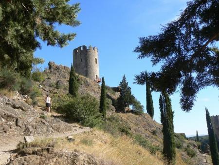 Visite des 4 châteaux de Lastours