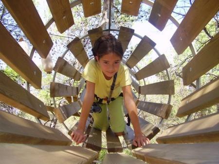 Parcours acrobatique forestier à Carcassonne