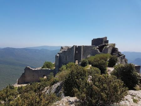 Visite du château de Peyrepertuse à Duilhac