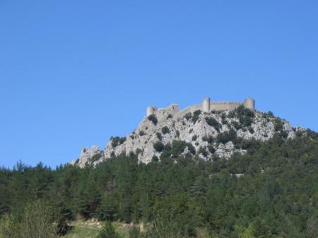 Le château de Puilaurens. C° ASPC