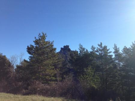 Le château de Puilaurens C°sudfrance