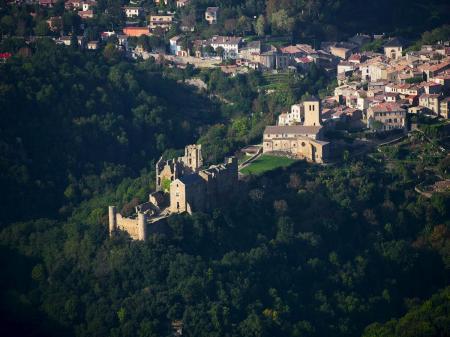 Visite du château de Saissac et son trésor monétaire