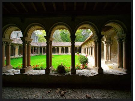 Visite de l'abbaye de Saint Papoul