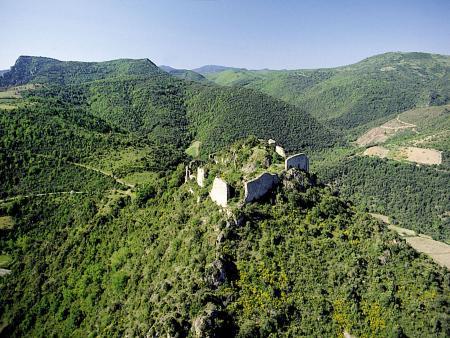 Visite du château de Termes