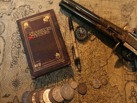 LIBTRECAR Box chasse au trésor à Carcassonne : le trésor des 3 rois box pieces c°Chasseursdetresors