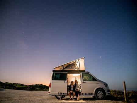 Location de Campervan California