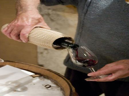 Atelier création de son propre vin, assemblage