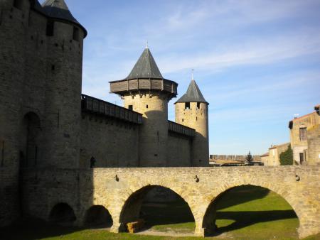 Carcassonne et la route des vins Chateau comtal