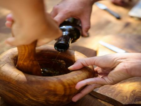 Atelier culinaire : huiles d'olive et tapenade