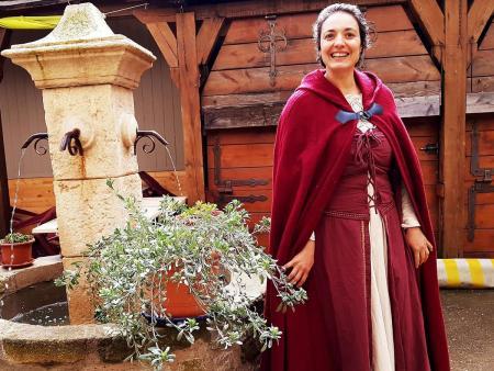 Visite en costume de la Cité de Carcassonne