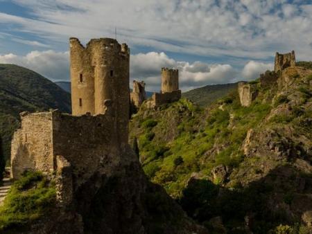 Les 4 châteaux de Lastours : visite commentée