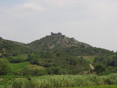 Château d'Aguilar Corbières maritimes et parc naturel de la Narbonnaise en Méditerranée