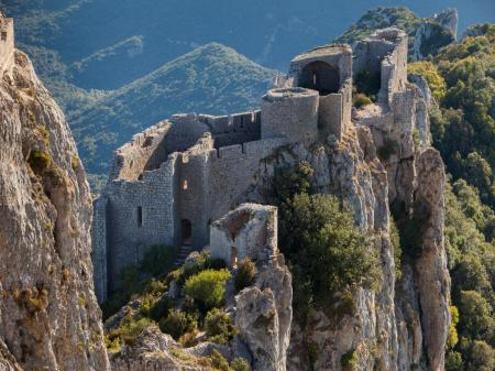 Citadelles du pays cathare Peyrepertuse Puilaurens