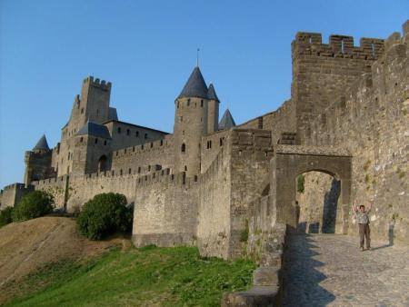 Visite guidée costumée 1h30 de la Cité de Carcassonne