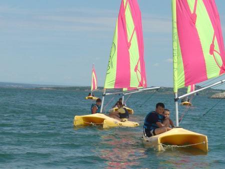 Stage junior : voile, char à voile plage et milieu marin - 08 à 13 ans