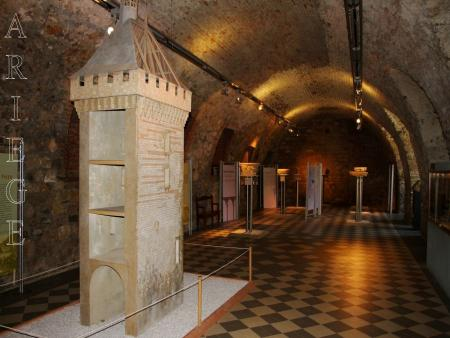 Visite du château de Foix
