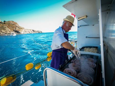 Croisière Grillade et Baignade  en Méditerranée