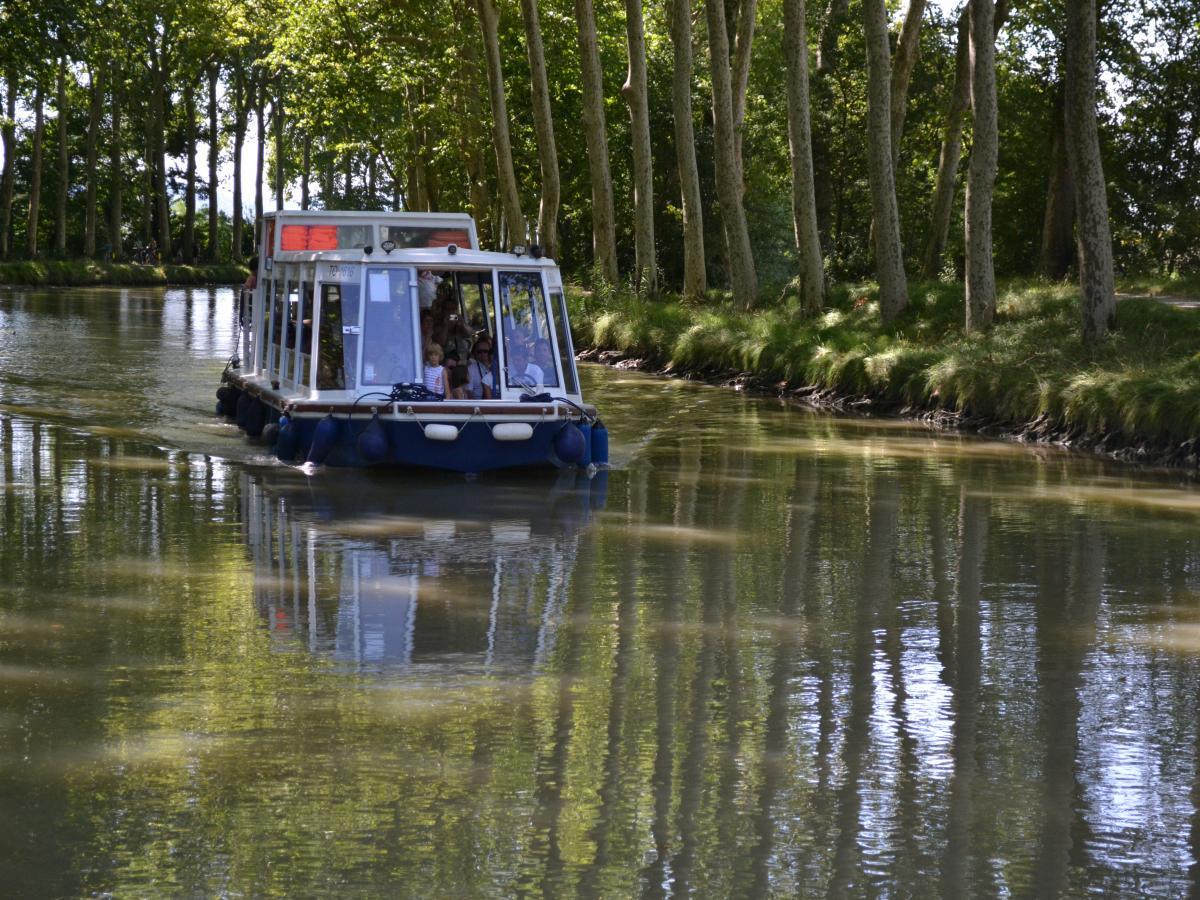 Scolaires : Balade Pique nique - bateau le Saint Roch à Castelnaudary