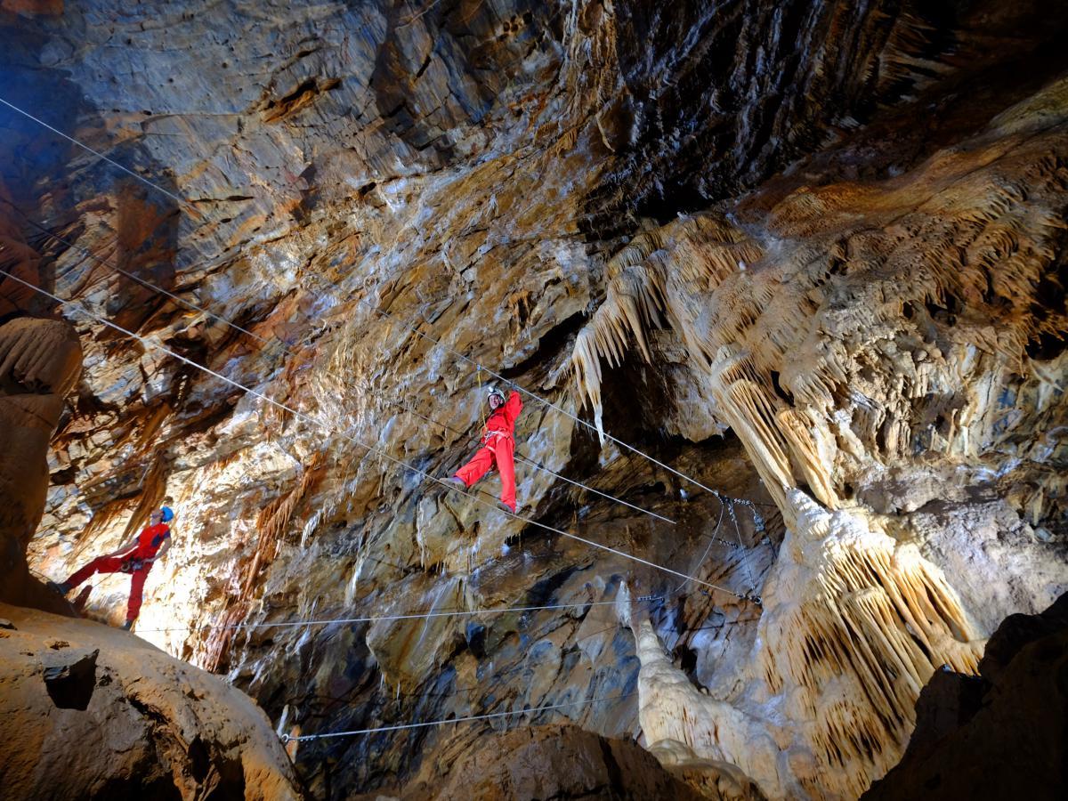 Accro Grotte de Cabrespine -  Gouffre géant de Cabrespine