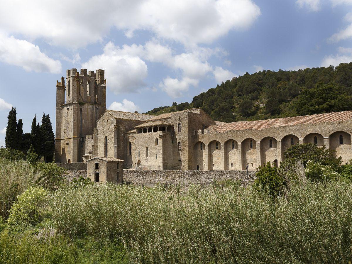 Abbaye Sainte-Marie de Lagrasse : Visite de la partie Médiévale