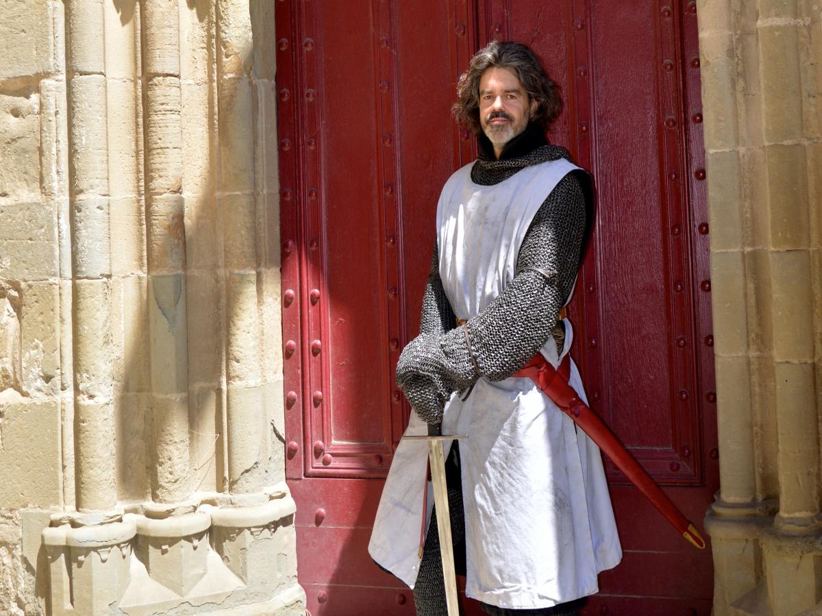 Rencontre à Carcassonne avec un chevalier du XIIIème siècle