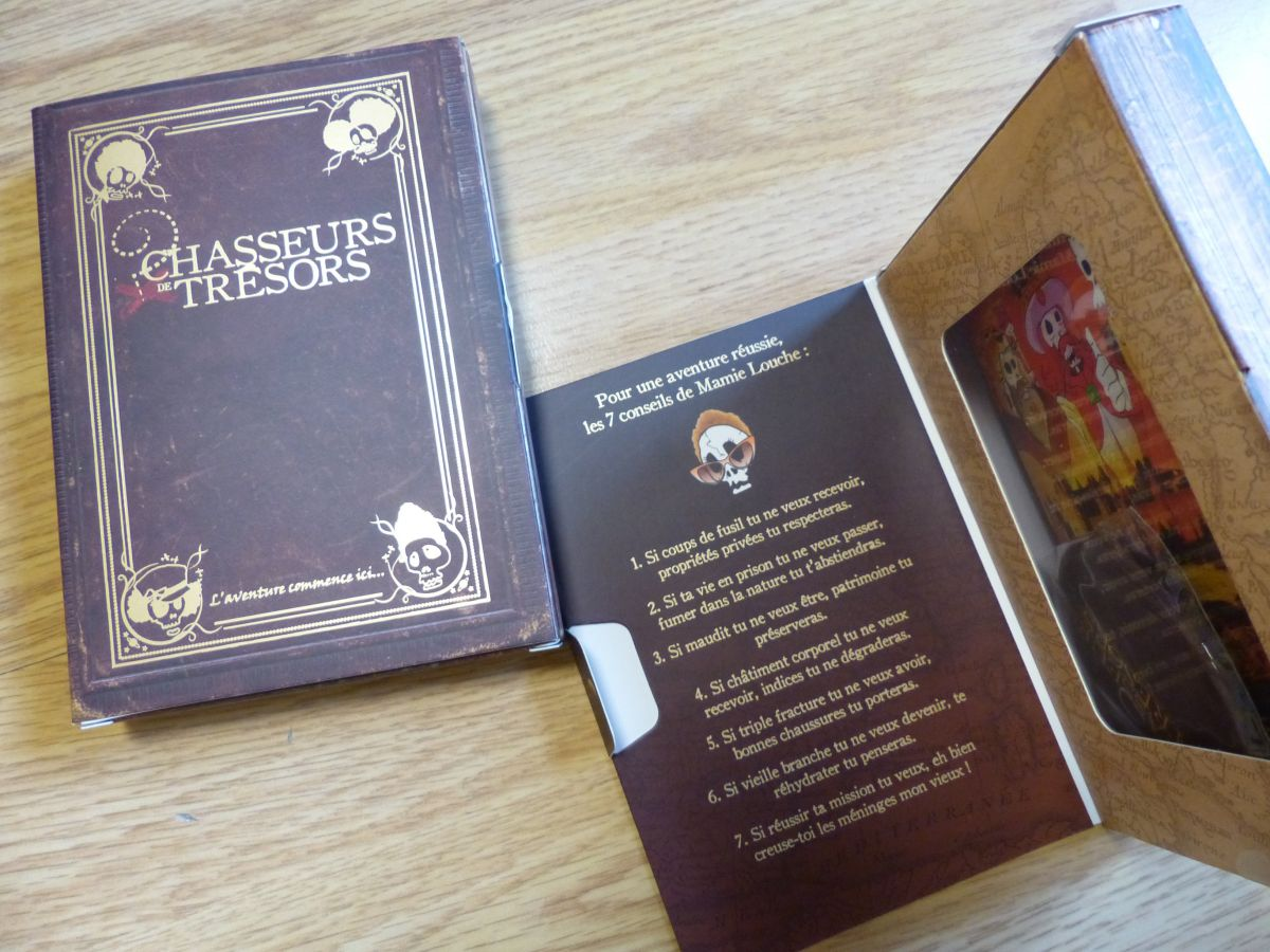 Box chasse au trésor à Carcassonne : le trésor des 3 rois