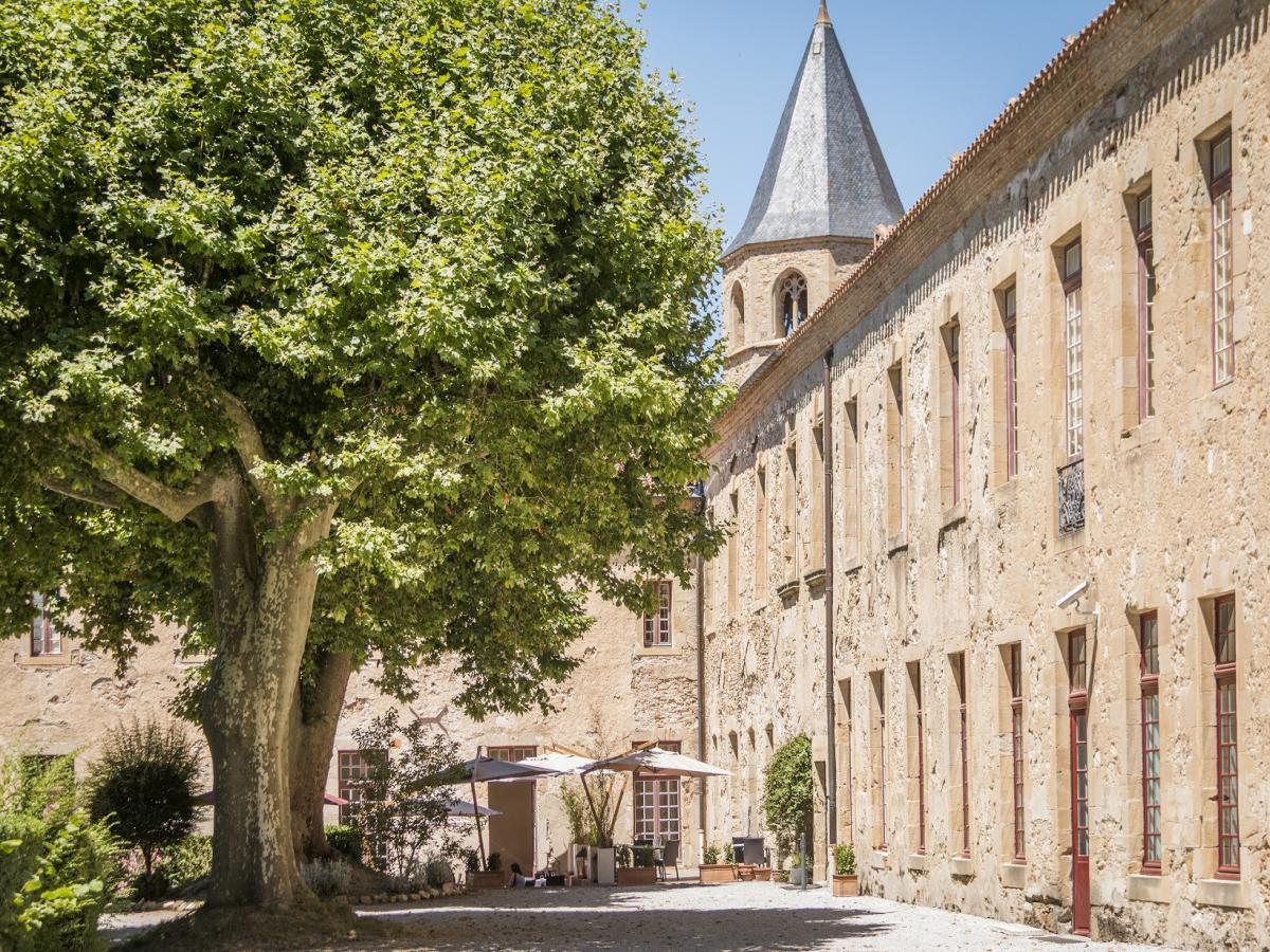 Sorèze abbaye - Lac de Saint Ferreol et sources du Canal du Midi