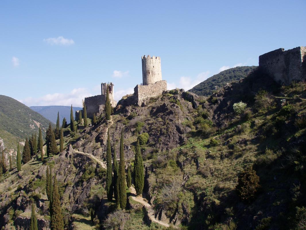 Trésors du Cabardès Lastours - Cabrespine - Saissac ou Caunes Minervois