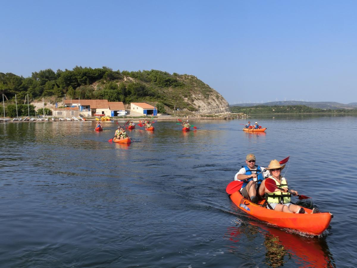 Escapade découverte kayak ou paddle sur la lagune