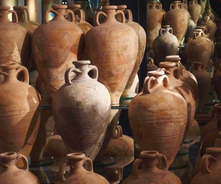 Visite du musée Amphoralis à Sallèles d'Aude
