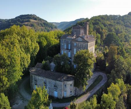 Visite du château de Chalabre