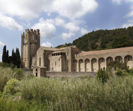 Visite de l'abbaye de Sainte-Marie de Lagrasse
