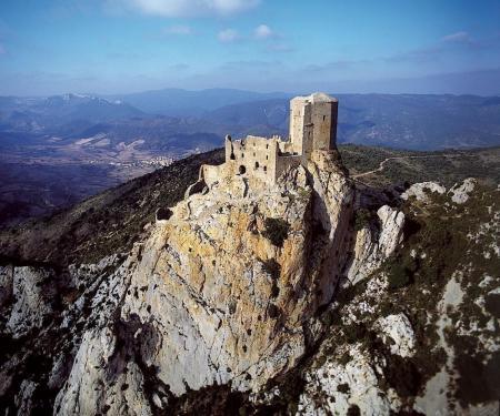 Visite du château de Quéribus à Cucugnan