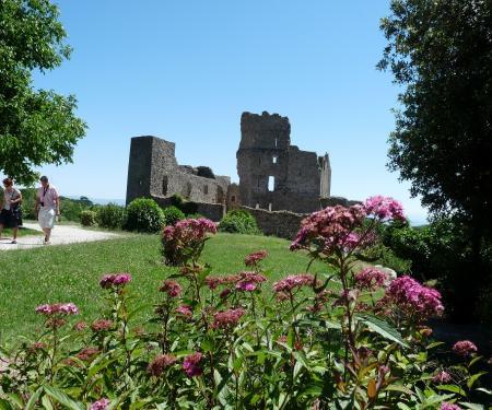 Visite du château de Saissac
