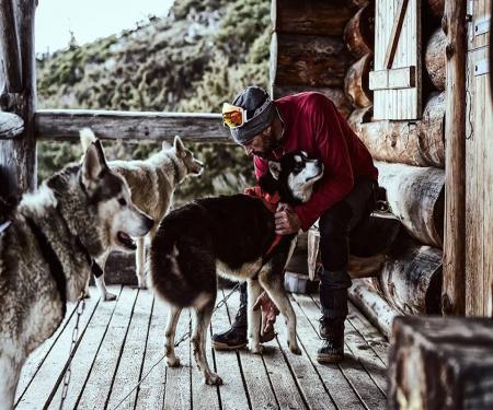 Ambiance trappeur dans les Pyrénées