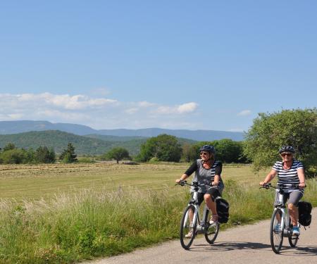 Escapade à Navacelles à pied et en vélo