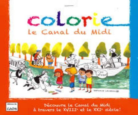 Colorie le Canal du Midi