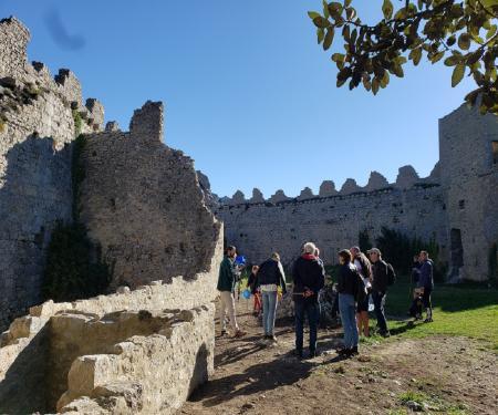 Visite guidée du château de Puilaurens
