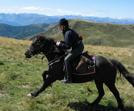 A cheval sur les traces des Cathares - 14/17 ans