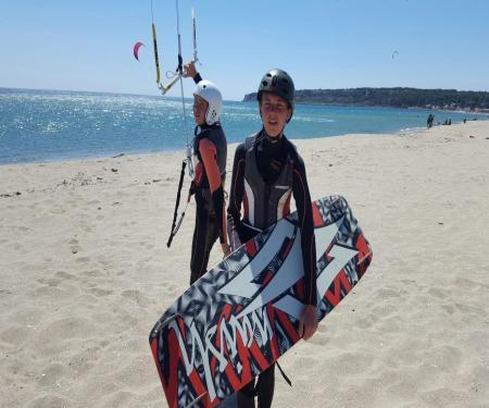 Free camp gliss - Kite-surf et char à voile à Leucate