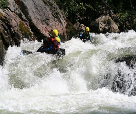 Séjour junior sports pleine nature en Vallée de l'Agly