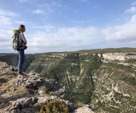 Grand site de Navacelles into the wild !
