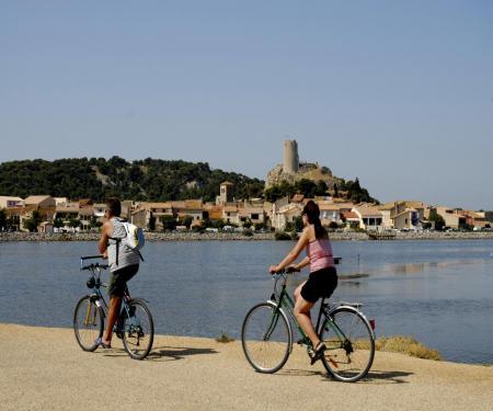 100% vélo à Gruissan