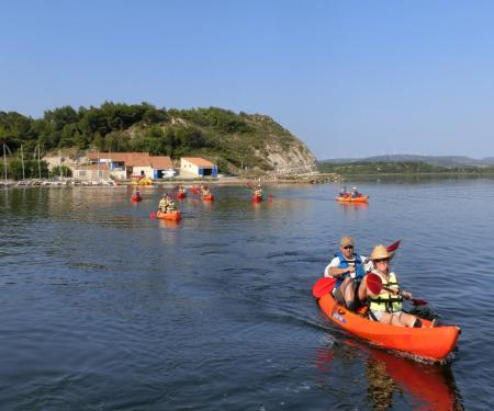 Escapade en kayak sur la lagune